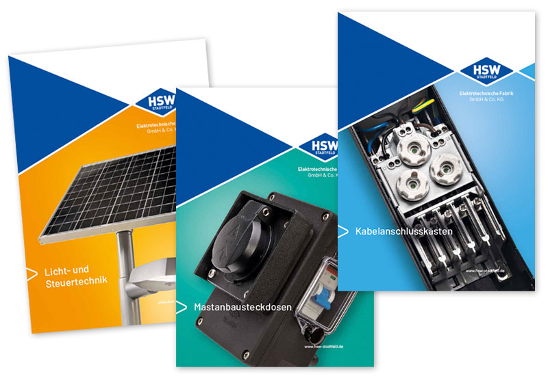 HSW Kataloge
