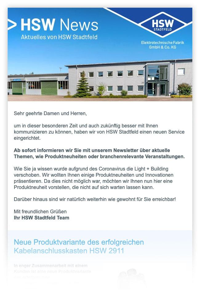 HSW Newsletter